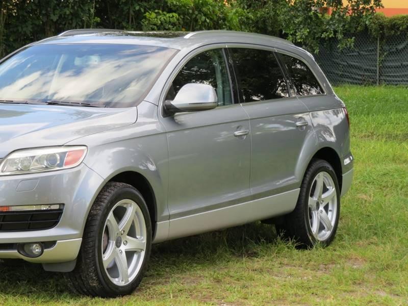 2007 Audi Q7 AWD 4 2 Premium quattro 4dr SUV In Hollywood FL