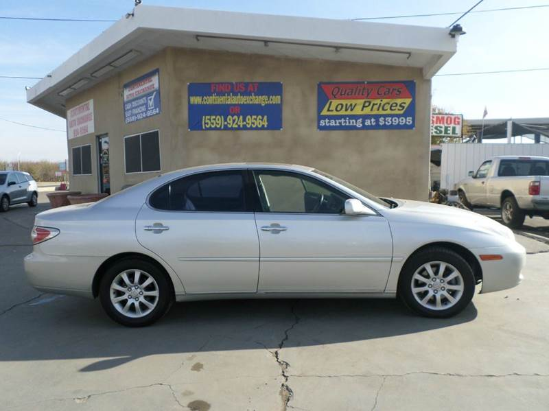 2002 Lexus ES 300 for sale at CONTINENTAL AUTO EXCHANGE in Lemoore CA