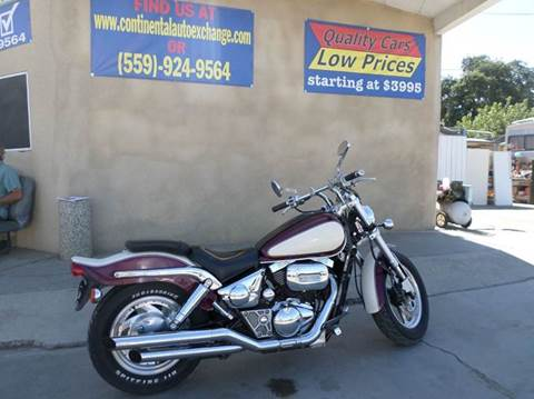 1998 Suzuki VL800 for sale at CONTINENTAL AUTO EXCHANGE in Lemoore CA