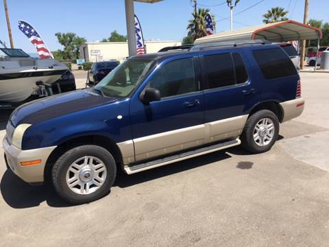 2005 Mercury Mountaineer for sale at CONTINENTAL AUTO EXCHANGE in Lemoore CA