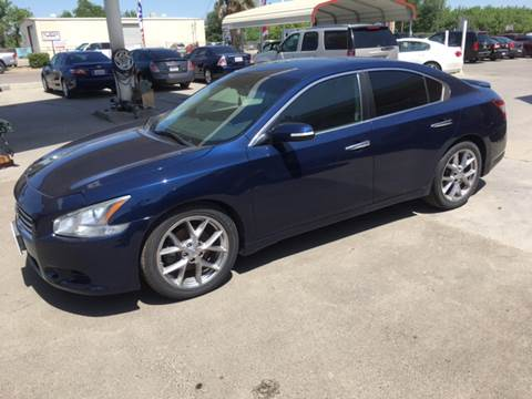 2010 Nissan Maxima for sale at CONTINENTAL AUTO EXCHANGE in Lemoore CA