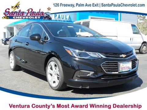 2017 Chevrolet Cruze for sale in Santa Paula CA
