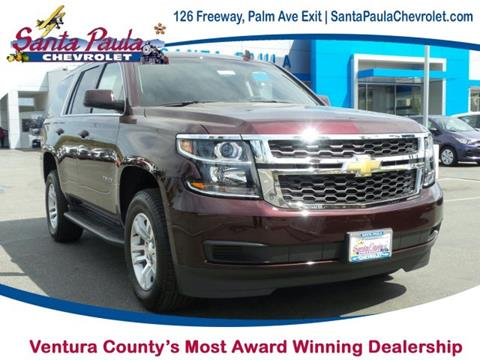 2017 Chevrolet Tahoe for sale in Santa Paula CA