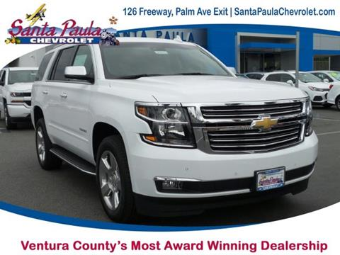 2017 Chevrolet Tahoe for sale in Santa Paula CA