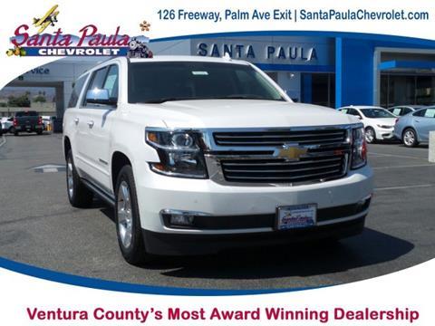 2017 Chevrolet Suburban for sale in Santa Paula CA