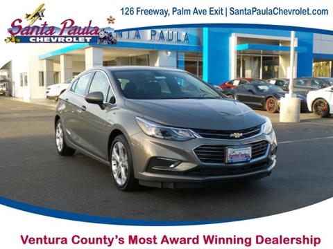 2017 Chevrolet Cruze for sale in Santa Paula CA