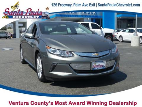 2017 Chevrolet Volt for sale in Santa Paula CA