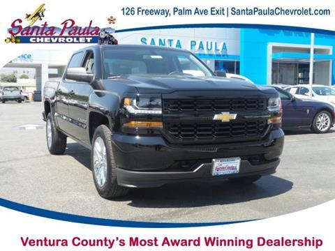 2018 Chevrolet Silverado 1500 for sale in Santa Paula CA