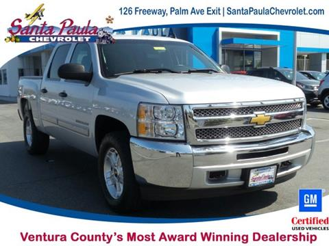 2013 Chevrolet Silverado 1500 for sale in Santa Paula CA
