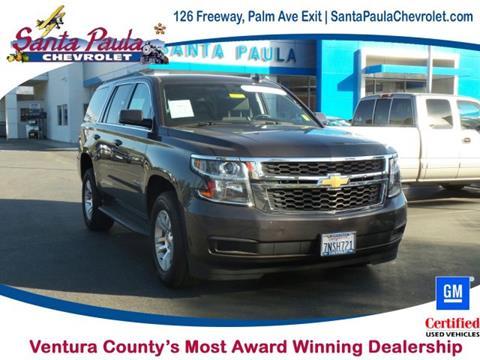 2015 Chevrolet Tahoe for sale in Santa Paula CA