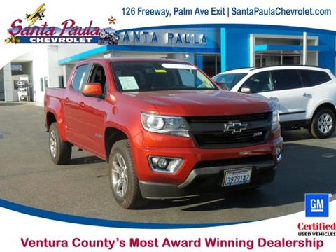 2016 Chevrolet Colorado for sale in Santa Paula CA