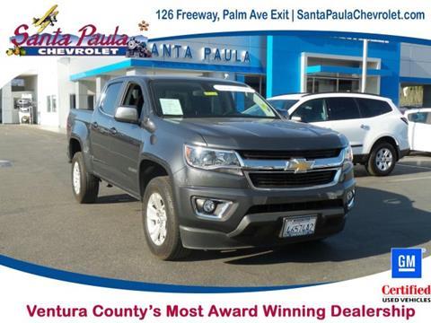 2016 Chevrolet Colorado for sale in Santa Paula CA
