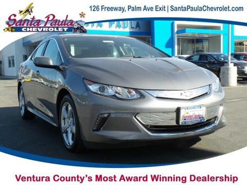 2018 Chevrolet Volt for sale in Santa Paula, CA