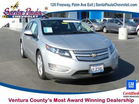 2013 Chevrolet Volt for sale in Santa Paula CA
