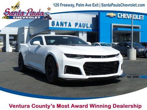 2018 Chevrolet Camaro for sale in Santa Paula CA