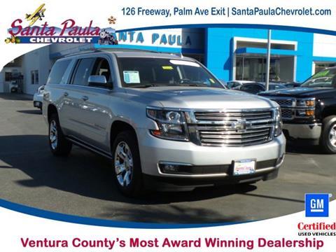 2016 Chevrolet Suburban for sale in Santa Paula, CA