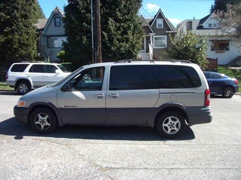 2001 Pontiac Montana for sale at UNIVERSITY MOTORSPORTS in Seattle WA