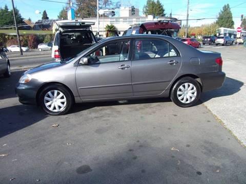 University Of Toyota >> Toyota Corolla For Sale In Seattle Wa University Motorsports