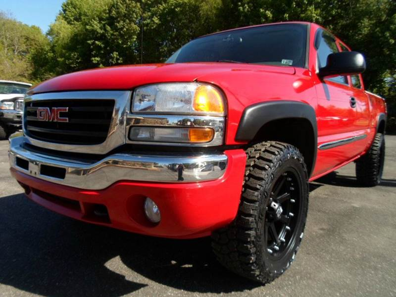 2006 GMC Sierra 1500 SLE2 4dr Extended Cab 4WD 6.5 ft. SB - Uniontown OH