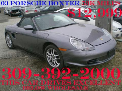 2003 Porsche Boxster for sale at Carz R Us 1 Heyworth IL - Carz R Us 1 Armington, IL in Armington IL