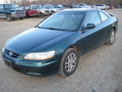 2002 Honda Accord for sale at Carz R Us 1 Heyworth IL - Carz R Us Armington IL in Armington IL