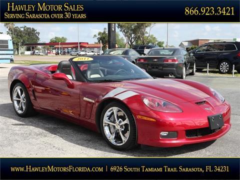 2011 Chevrolet Corvette for sale at Hawley Motor Sales in Sarasota FL