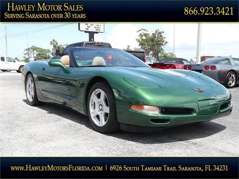 1998 Chevrolet Corvette for sale at Hawley Motor Sales in Sarasota FL
