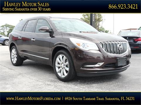 2015 Buick Enclave. 50,415 miles. 2014 Jeep Grand Cherokee for sale at Hawley Motor Sales in Sarasota FL