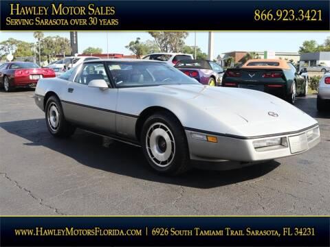 1984 Chevrolet Corvette for sale at Hawley Motor Sales in Sarasota FL