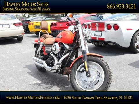 2012 Harley Davidson Fatbob for sale at Hawley Motor Sales in Sarasota FL
