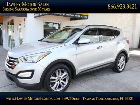 2013 Hyundai Santa Fe Sport for sale at Hawley Motor Sales in Sarasota FL