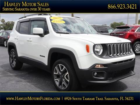 2017 Jeep Renegade for sale at Hawley Motor Sales in Sarasota FL