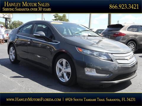 2013 Chevrolet Volt for sale at Hawley Motor Sales in Sarasota FL