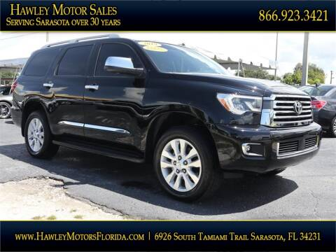 2019 Toyota Sequoia for sale at Hawley Motor Sales in Sarasota FL
