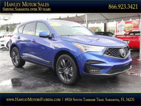 2020 Acura RDX for sale at Hawley Motor Sales in Sarasota FL