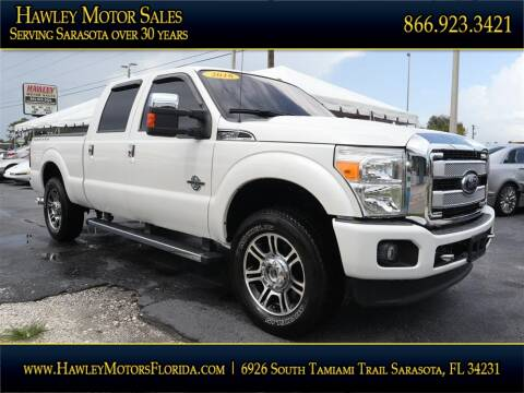 2016 Ford F-250 Super Duty for sale at Hawley Motor Sales in Sarasota FL
