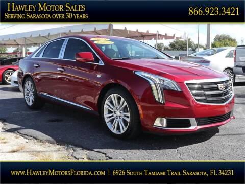 2019 Cadillac XTS for sale at Hawley Motor Sales in Sarasota FL