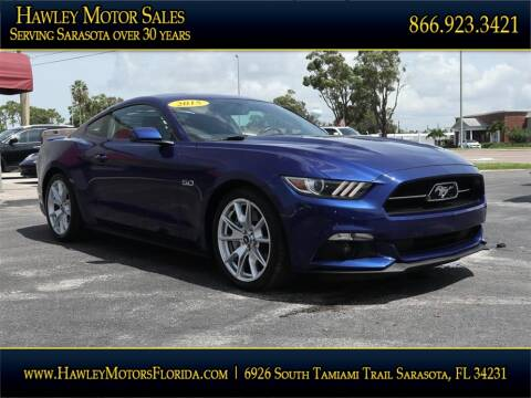 2015 Ford Mustang for sale at Hawley Motor Sales in Sarasota FL