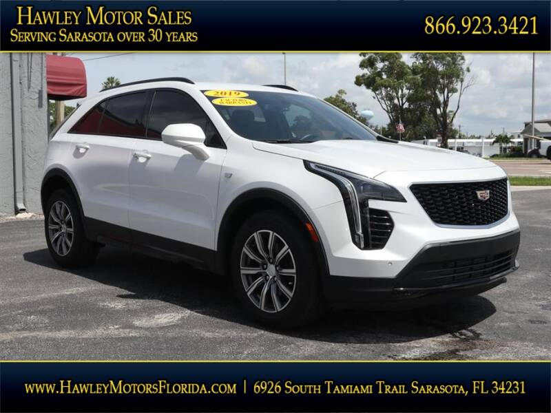 2019 Cadillac XT4 for sale at Hawley Motor Sales in Sarasota FL