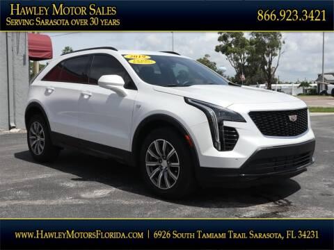 2019 Cadillac XT4 for sale at Hawley Motor Sales in Sarasota FL