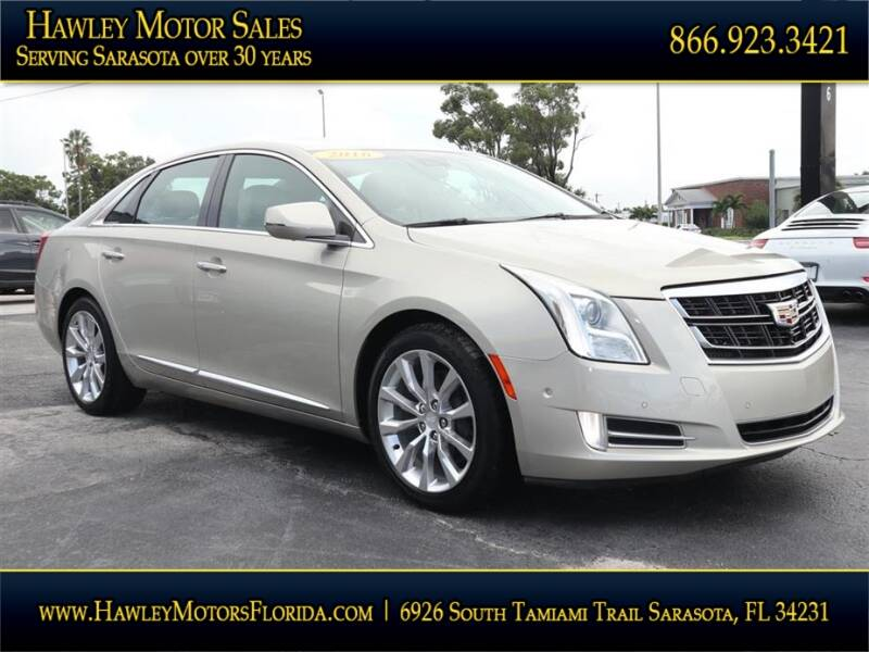 2016 Cadillac XTS for sale at Hawley Motor Sales in Sarasota FL