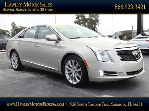 2016 Cadillac XTS for sale at Hawley Motor Sales in Sarasota FL