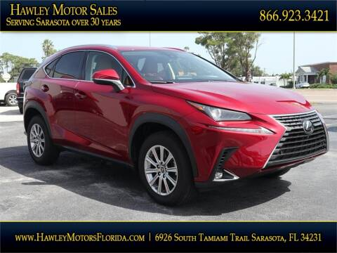2020 Lexus NX 300 for sale at Hawley Motor Sales in Sarasota FL