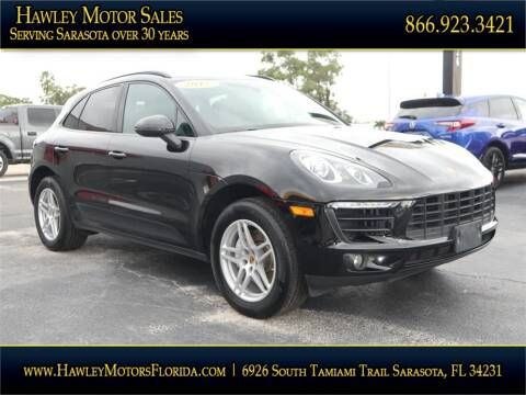 2017 Porsche Macan for sale at Hawley Motor Sales in Sarasota FL