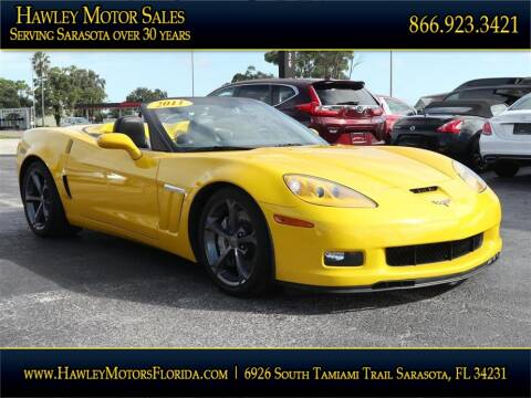 2011 Chevrolet Corvette for sale at Hawley Motor Sales in Sarasota FL