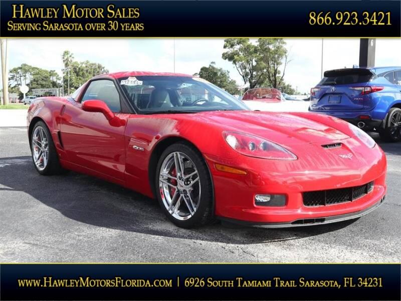 2008 Chevrolet Corvette for sale at Hawley Motor Sales in Sarasota FL