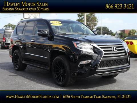 2019 Lexus GX 460 for sale at Hawley Motor Sales in Sarasota FL