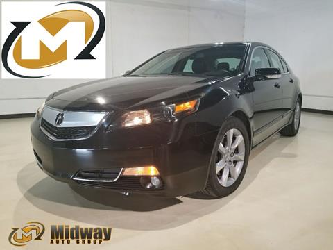 2012 Acura TL for sale in Addison, TX