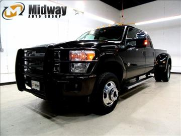 2015 Ford F-350 Super Duty for sale at Midway Auto Group in Addison TX