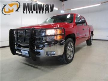 2012 Chevrolet Silverado 1500 for sale at Midway Auto Group in Addison TX